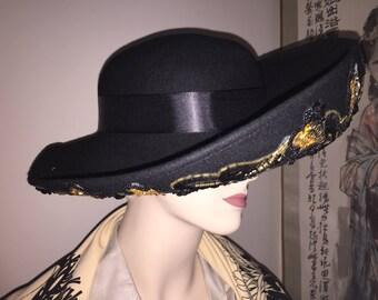 Ms Jin Vintage Michael Howard Lady's Hat