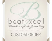 Custom Earring Order with Cyber Monday Discount