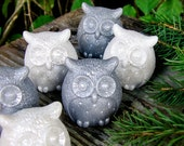 Snowy Owl Soap, Owl Party Favor, Winter Owl, It's a Hoot, Owl Shower, Owl Party, Soap Favor, 1st Birthday, Woodland Wedding, Outdoor Wedding