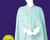 OOP Misses Cape So Easy Sew Simple Simplicity 2030 Womens Sewing Pattern Plus and Average Sizes XS-XL Uncut