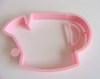 Pink Watering Can Cookie Cutter