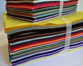 "NEW All 40 Colors in 9"" X 12""  Half Sheets Acrylic Felt Bundle, Craft Felt Sheets, Acrylic Felt Pack, Craft Felt Pack, Felt Fabric Supplies"