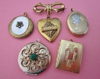 Vintage Lockets DeStash