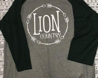 Lion Country Vinyl Shirt