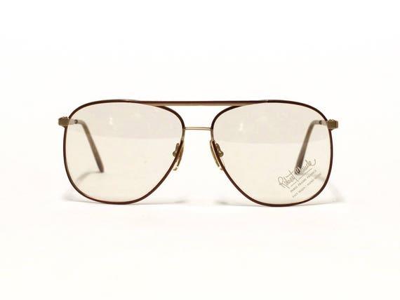 Vintage Aviator Mens Eyeglass frame ROBERT CLAUDE French
