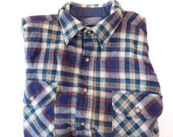 Mens Vintage Pendleton Size XL, Vintage Mens Pendleton, XL, Free Shipping