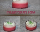 Italian Creme Soda- Raspberry Basil Tea Lights