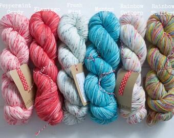 Kate Selene Hand Dyed 4Ply Sock Yarn - Ready To Ship