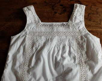 Lovely Cotton and Linen shirt with Cutwork