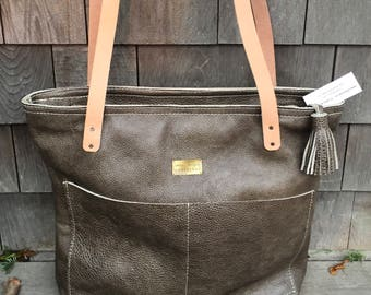 Leather Tote & Backpack