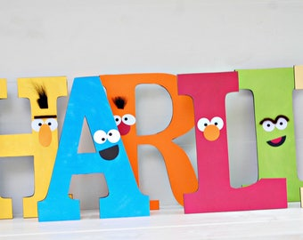 The Sesame Collection - Custom Tabletop Decorations from Mary Had a Little Party