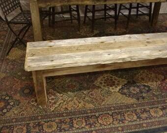 Driftwood Bench (68 x 15 x 16H)