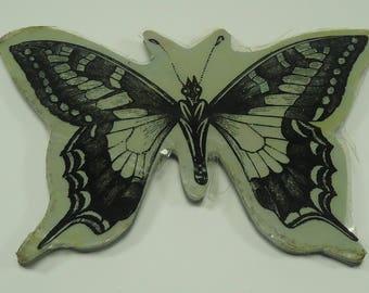 Flexible Butterfly Foam Mounted Stamp