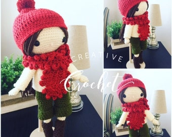 Handmade Crochet Andrea Doll
