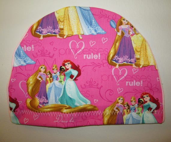 Kids  Princess Rules  Children  Lightweight  Hat -Chemo, Cancer, Alopecia,Sleep Cap, Summer Chemo Hat