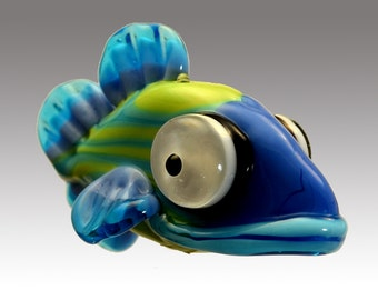 Aardvark's Zelda The Spotted Shovelnose Fish Bead