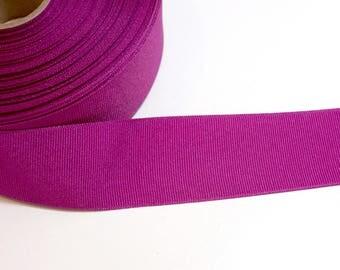 Rapsberry Ribbon, Offray Festive Fuchsia Grosgrain Ribbon 1 1/2 inches wide x 4 yards