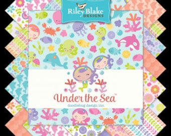 ON SALE Under The Sea By Doodlebug Design Complete FQ Bundle