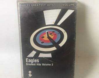 Eagles Greatest Hits Volume 2 Cassette Tape