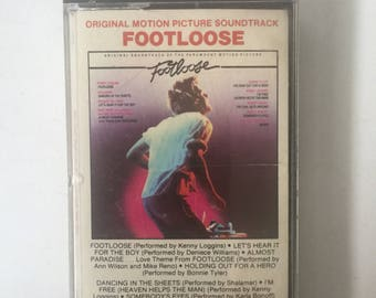 Footloose Soundtrack Cassette Tape