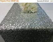 ON SALE SEQUINS Runner Colors Sizes Sequin Table Runner Silver, Champagne, Gold, Purple, Red, Ivory, Turquoise, Mint, Lavender Wedding Sequi