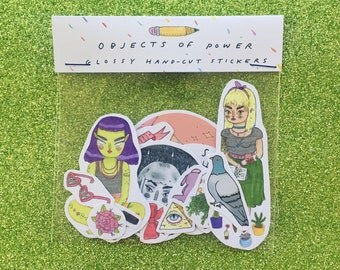 objects of power - sticker sheet