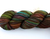 Sidewalk Chalk--hand dyed sock yarn, Yak, Merino and Nylon, (437yds/100gm)