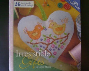 Irresistible Gifts to Cross Stitch Booklet - from Cross Stitcher Magazine - 26 Designs