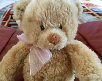"Vintage Gund Baby Teddy Bear, 8"" tall, Excellent Condition"