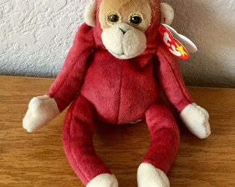 Vintage Ty Schweetheart Bear 1999 The Attic Creations Collection Excellent Condition