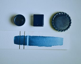 Horizon Blue, Anthesis Arts Artisanal Handcrafted Watercolor Paints, Choose Your Size