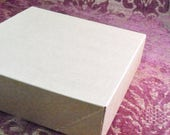 Spring Sale 10% off 10 Pack Kraft Brown Paper Two Piece Style Packaging Retail Gift Boxes 6.5X6.5X1.65 Inch Size