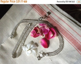 ON SALE Authentic Tribal Indian Ankle Bracelet - single OR pair