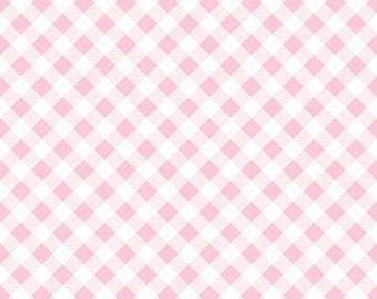 SALE!!  Sew Cherry 2 By Lori Holt Gingham Pink (C5808-Pink)