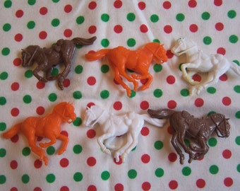 circus horses cake toppers