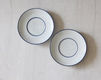 Dansk Plates NR Niels Refsgaard Danish Modern (Set of 2)