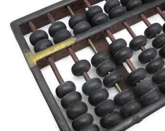Vintage Wooden Abacus - Chinese
