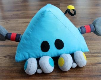 Blue Trig - Big Plush Robot