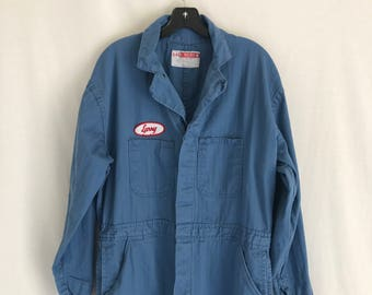 Vintage work/ utility Coveralls. Men's Medium