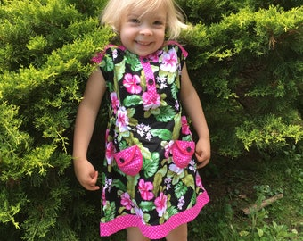 Sunny Day Dress Pink Floral