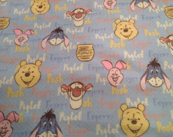 Winnie the Pooh swaddling blanket