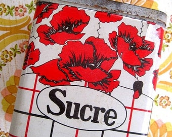 Vintage French Tin - Sucre