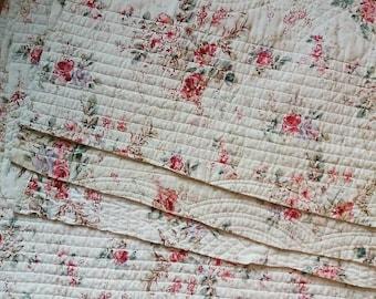 Floral Quilt Pieces