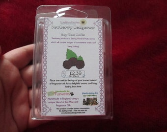 Dewberry Hedgerow Scented Soy Wax Melts Pack