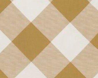Pure Plaid Dijon Mustard Gold  - Modernist - Joel Dewberry - PWJD143.DIJON - Quilters Cotton