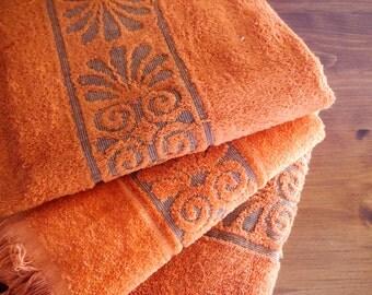 Set of 3 small bath towels