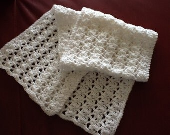 Little Girls Shawl / Girls White Wrap / Girls White Shawl / Bootsandbelle / Free US Shipping