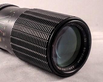 Kalimar MC Auto Zoom 80-200mm f/3.9 Minolta Mount zoom lens