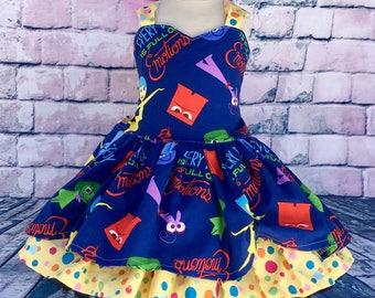 All The Emotions Twirl Dress