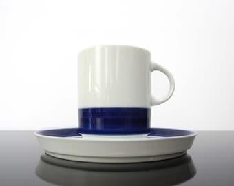 Cup with Saucer / Thomas-Rosenthal /  Form 200 ABC / Hans Theo Baumann / Vinatge